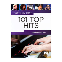 Really easy piano: 101 Top Hits Songbook für Klavier/Vocal/Gitarre AM1008975