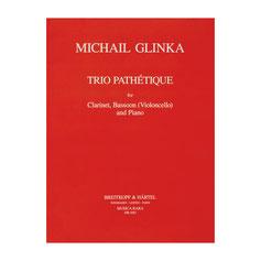 Trio Pathétique von Michael Glinka für Klarinette, Fagott (Violoncello) und Klavier MR1083