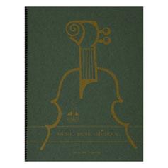 Notenbuch 24 Blatt  12 Systeme, 48 Seiten  mit Spiralbindung