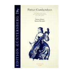 Pariser Gambenduos 6 frühklassische Sonaten von eines unbekannten Komponisten, Band 1 G066