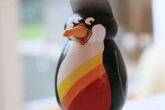 Pinguinfigur für Firma umgesetzt