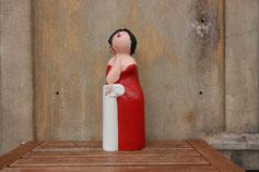 Damen - Papiermaché-Figuren