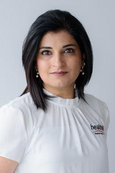 Gunit Mehar / medizinische Masseurin und Elektrotherapeutin