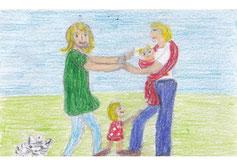 Eltern, Familie, Kinder, Gemeinsamkeit