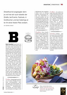 Artikel Streetfood & Burger Trends 2019 Cooking Catering Inside 4/2019
