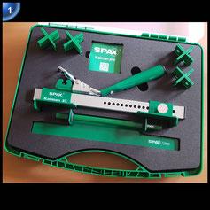 SPAX - Brettrichter Kaiman pro zur einfachen Ausrichtung verzogener Deckbretter - 5009409872009