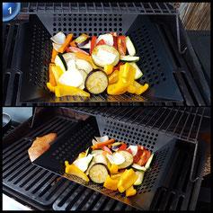Barbecook 2230023000 Gemüsewok Quadratisch