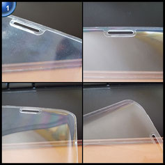 Utmury Galaxy S7 Edge Schutzfolie,Glas Bildschirm Schutz für Samsung Galaxy S7 Edge Anti-Kratzer HD Ultra Klar Film