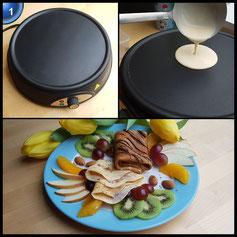 Ultratec Crêpes-Maker, Durchmesser 28 cm, 1.000 Watt