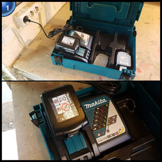 Makita Power Source Kit 18V 5 Ah, 197624-2