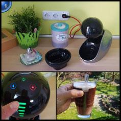 Bewertung: ✔ schmeckt sehr lecker, heiße Zubereitung, viele Sorten ㅇ Wassertank ✘ Hebe-Mechanismus anfällig, Verpackungsmüll … Rezension & Bilder online