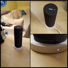 Ultimate Ears BLAST Bluetooth Lautsprecher (Tragbarer WLAN Lautsprecher- mit Amazon Alexa-Sprachsteuerung, wasserdicht) schwarz