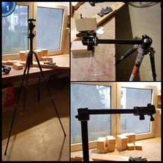 Beschoi Kamera Stativ Profi Dreibein stativ mit 3D-Kugelkopf Schnellwechselplatte und Einbeinstativ-Funktion für Canon Nikon Sony und allen DSLR Kameras