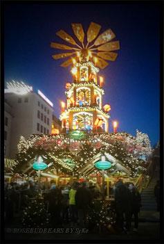 Weihnachtsmarkt Hannover Pyramide
