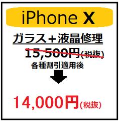 iPhoneX液晶画面