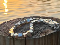 Halsketten aus Silber