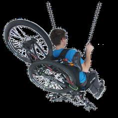 """Le harnais """"Bike & Fly"""""""