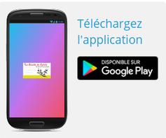Google Play pour télécharger l'application