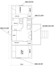 """Roulotte """"Cerise"""" : Residence secondaire pour famille avec 2 enfants"""