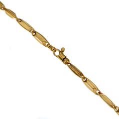 bracciale uomo in oro giallo