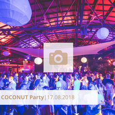 Coconut Party August 2018 Halle Tor 2