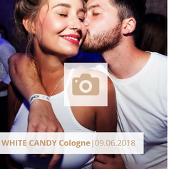 White Candy Cologne Party Juni 2019 Halle tor 2