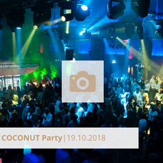 Logo Coconut Party Oktober 2018 Halle tor 2