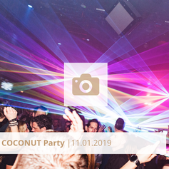 Logo Coconut Party Januar 2019 Halle Tor 2