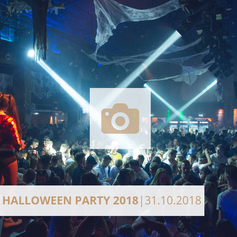 Logo Halloween Party 2018 Halle Tor 2