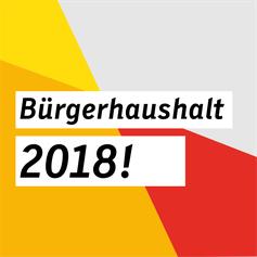 Bürgerhaushalt 2018!