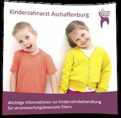 Flyer Kinderzahnbehandlung Aschaffenburg