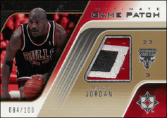 MICHAEL JORDAN / Ultimate Game Patch #d/100