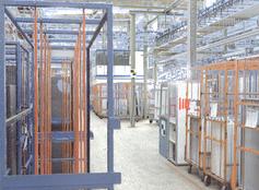 Die digitale Fabrikplanung von Liebherr findet mit Autodesk und FARO statt.