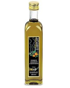 Aceite virgen extra de oliva con Trufa blanca 55ml (6,50€ und) Azienda Giuliano Tartufi-Umbria