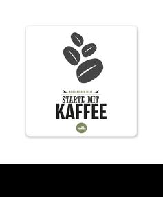 """Keramikuntersetzer """"Regiere die Welt starte mit Kaffee"""" kaufen"""