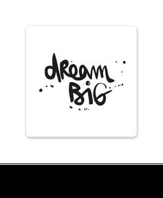 """MDF Untersetzer """"dream big"""" kaufen"""