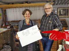 TypoWalz bei Willi Beck