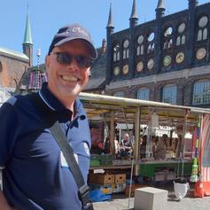 Axel Schattschneider der etwas andere Stadtführer in Lübeck
