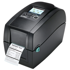 Etikettendrucker Godex RT200i Niesel-Etikett