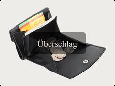 Überschlag Portemonnaies