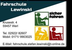 Logo Fahrschule Lewinski