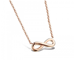Halskette mit Unendlichkeitssymbol