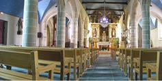 Intérieur de l'église Saint-Etienne (PLOUEZOC'H)