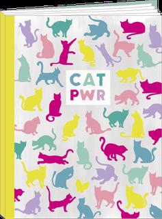 Cahier 96 pages lignées Cat Power - KIT8
