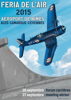 Feria de l'air Nîmes-Garons 2015,Feria de l'air 2015 , Meeting Aerien 2015