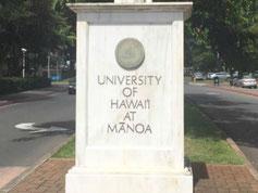 ハワイ大学マノア校 ブックストア 日本語貸切タクシー、チャーター、貸切観光ツアー
