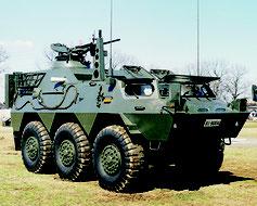 イベントで展示予定だった陸自の82式指揮通信車(自衛隊沖縄地方協力本部のフェイスブックより)