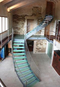 zur Glastreppe Luxemburg hier klicken