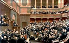Chambre des députés (Troisième République) - Le Libérateur du Territoire de Jules-Arsène Garnier.