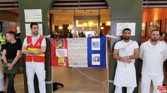 Salariés Del Arte en grève à Vélizy 2.